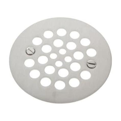 brasstech 4 1 4 in shower drain cover in stainless steel