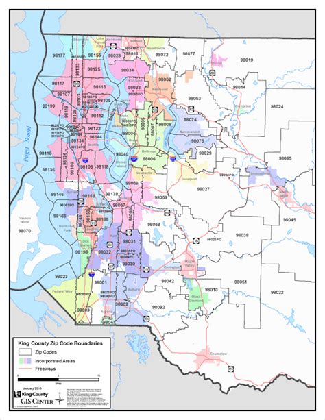 Zip Code Map King County | king county zip code map zip code map
