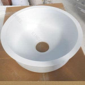 Corian Undermount Sink by China Small Resin Solid Surface Undermount