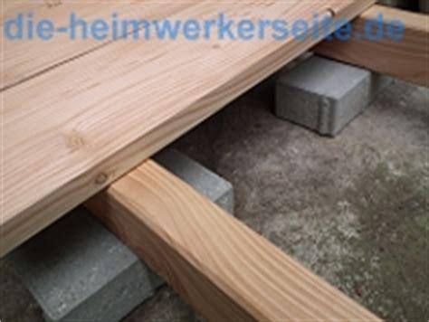 Holzterrasse Auf Beton 3651 by Holzterrasse Auf Beton Verlegung Auf Betonsockeln