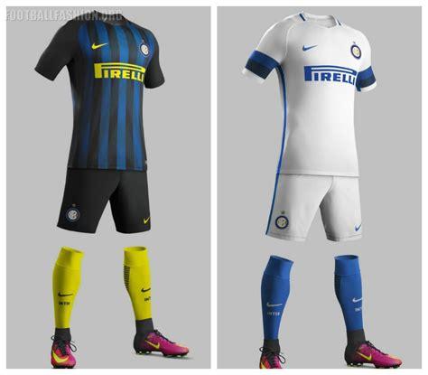 Jersey Inter Milan Away 1416 inter milan 2016 17 nike home and away kits football