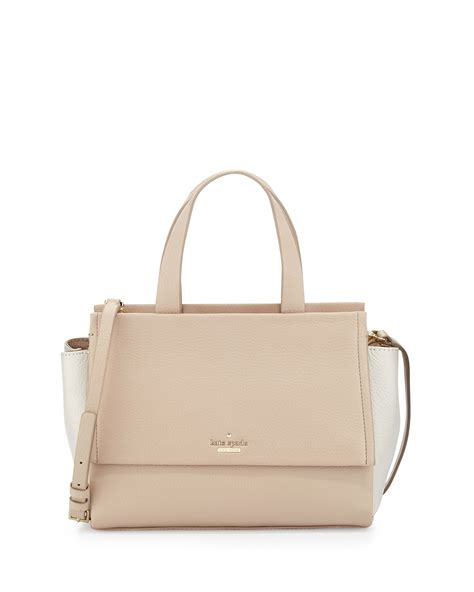 Kate Spade Canvas Bag lyst kate spade new york bromley adela tote bag
