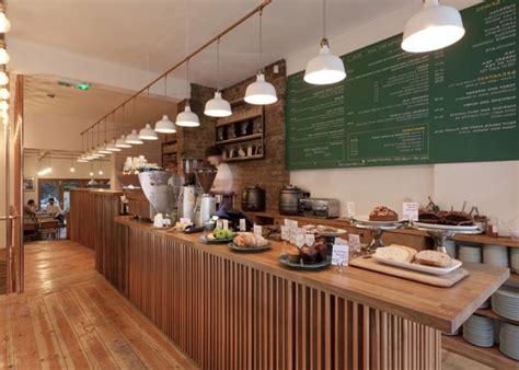 delightful Rhythm In Interior Design #4: Service-area-in-contemporary-cafe-in-London.jpg