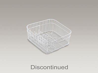 discontinued kohler racks kohler brookfield coated wire rinse basket brookfield