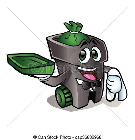 clipart rifiuti can rifiuti cartone animato can vettore rifiuti