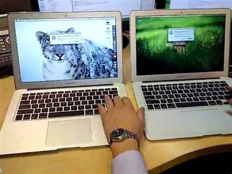 Macbook Air 2 Duo Second macbook air 2010 2 duo vs 2011 i7 dual boot speed challenge