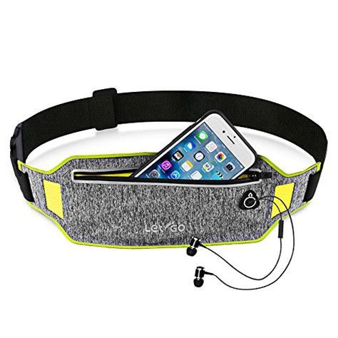 Sweatproof Sport Waist Belt Bag Pouch For Running Ukuran L Ter iphone 8 running belt iphone 7 plus waistband sweatproof