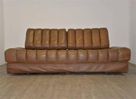 de sede vintage swiss de sede ds 85 sofa daybed and loveseat