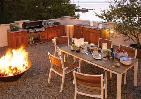 cuisine exterieure bois am 233 nagement cuisine ext 233 rieure id 233 es et conseils