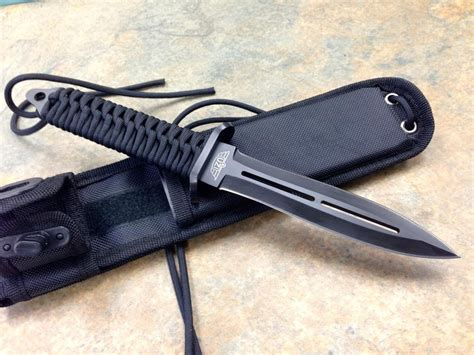 edged blade uzi battle commander edged fixed blade tactical