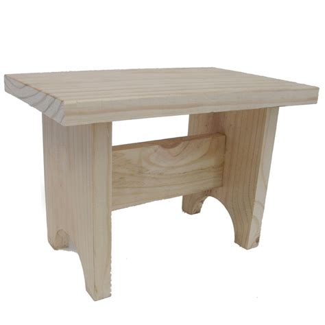 Timber Stool by Boyle Craft Timber Stool Bunnings Warehouse