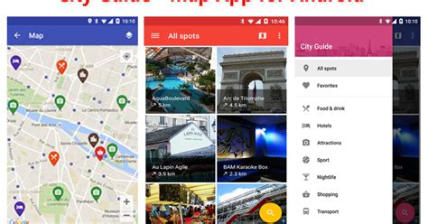 map apps for android city guide map app for android android studio