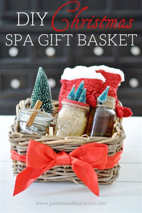 diy spa gift basket the perfect handmade christmas gift
