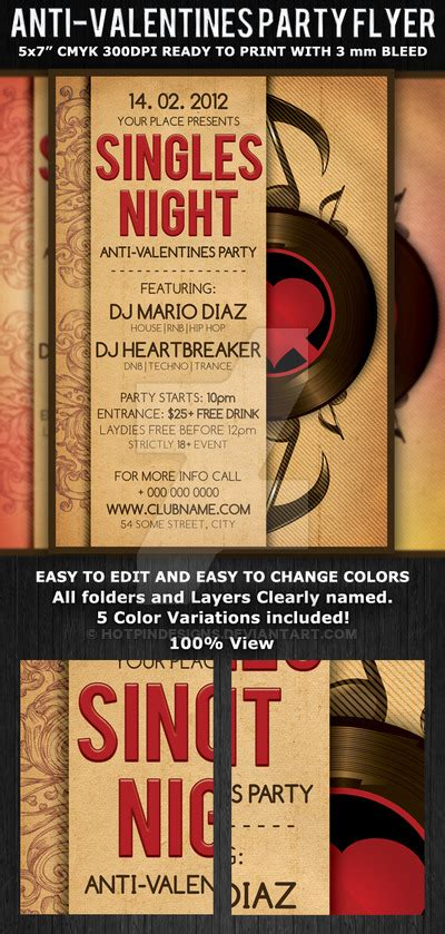 valentines singles events singles valentines flyer template by hotpindesigns