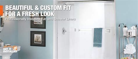 home depot bathtub installation bathroom installation done by the professionals at the