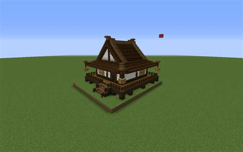 minecraft japanese house japanese style house standard creation 5692