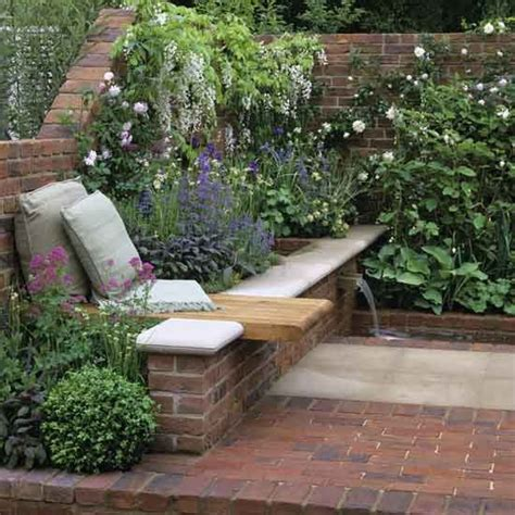 Tips For Garden Wall Ideas Garden Brick Wall Ideas