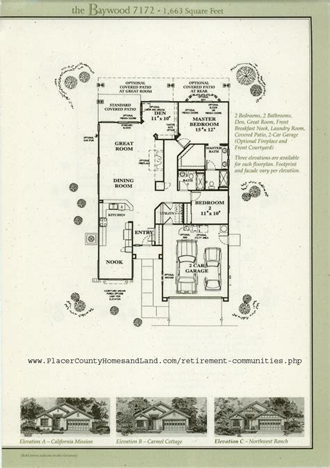 sun city roseville floor plans sun city roseville floorplans