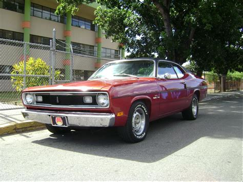 1968 plymouth duster pony and cars le monde de stef