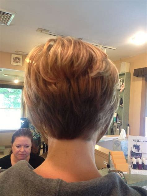 short stacked haircuts for fine hair that show front and back short stacked hairstyles for thin hair hairstyles