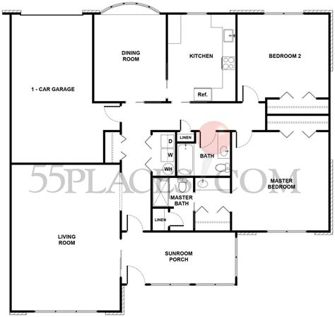 leisure village floor plans regency floorplan 1750 sq ft leisure village
