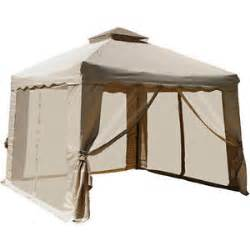 10x10 Gazebo With Mosquito Netting by New 10 X 10 Portable Gazebo Mosquito Netting Net Double