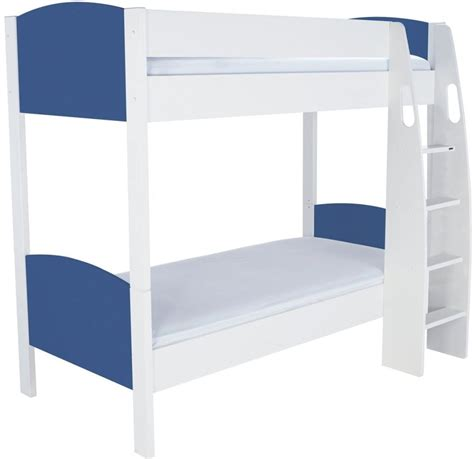 blue bunk bed buy stompa detachable blue round bunk bed online cfs uk