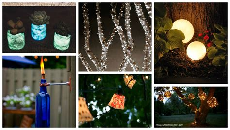14 Creative Diy Outdoor Lighting Ideas Top Inspirations Creative Outdoor Lighting Display Ideas