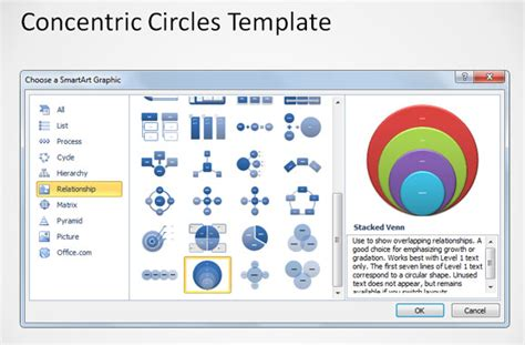 how to create powerpoint template concentric circles powerpoint template 3d concentric