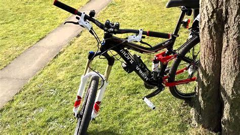 Suspension Mountain Bike Rack by Rear Rack On Suspension Bike Mp4