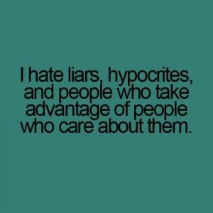 hate liars quotes quotesgram