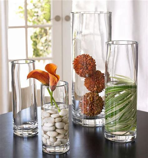 Decorating A Glass Vase by Glass Decoration Stylish And Beautiful Room