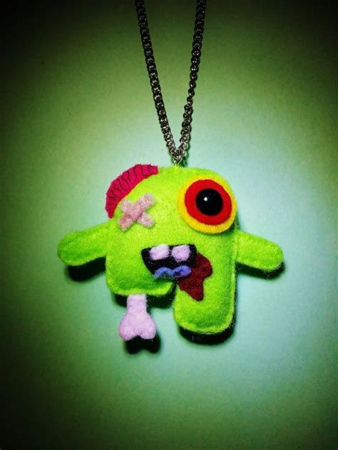 cute zombie pattern 20 best images about frankenfelt on pinterest brooches