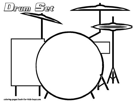 drum template drum set coloring pages coloring pages