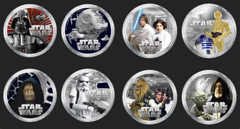 Coin Starwars wars coins are tender on south pacific island pcworld