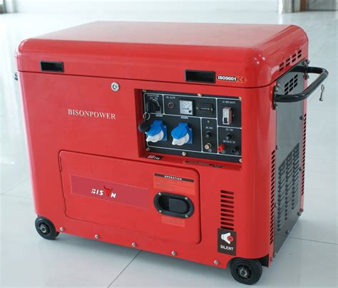 6kw silent diesel generator home use low fuel consumption