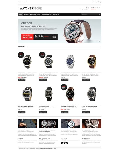 free shopify themes responsive download watches responsive shopify theme 47699