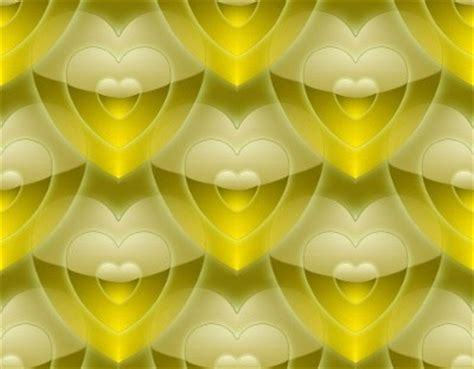 Gold Profile Backgrounds for Twitter, Xanga, Friendster or ... Yellow Hearts Wallpaper