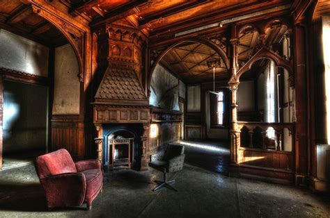 elegance architectural gothic house interior cene home