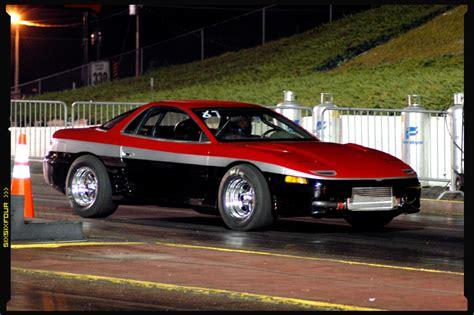 Mitsubishi 3000gt Vr4 Horsepower by 1991 Mitsubishi 3000gt Vr4 1 4 Mile Trap Speeds 0 60