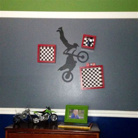 dirt bike bedroom decor 29 best images about dirt bike room ideas on pinterest
