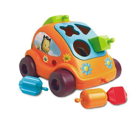 Auto Kinderspiele by Smoby 810212218 Cotoons Steckspiel Auto Kinderspiele