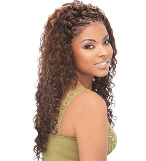 sew in human hair styles sew in with deep wave wet and wavy human hair transition