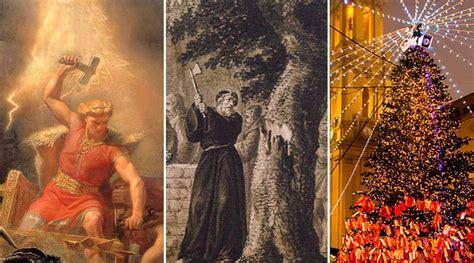 el origen arbol de navidad thor san bonifacio y el origen 225 rbol de navidad