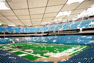 Silverdome Pontiac Michigan Ghost Stadium Michigan S Abandoned Pontiac Silverdome