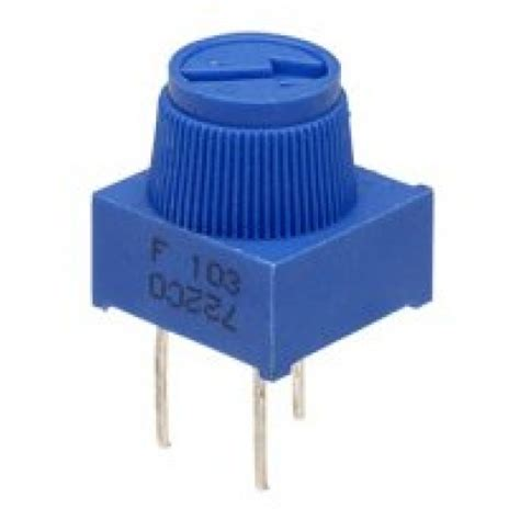 Single Also Search For Single Turn Potentiometer 10k Fpot 10k