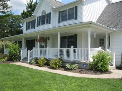 Wrap Around Deck Designs Cheap Front Porch Stunning White   landscaping ideas for wrap around porches beautiful wrap