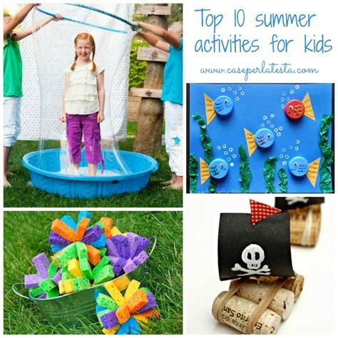 10 Summer Activities by 10 Attivit 224 Estive Facili Da Fare Con I Bimbi 10 Easy