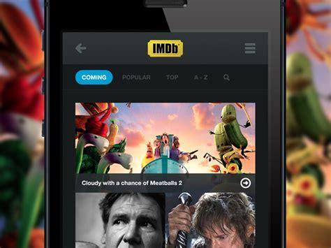 imdb mobile imdb mobile by daniel sandvik dribbble dribbble