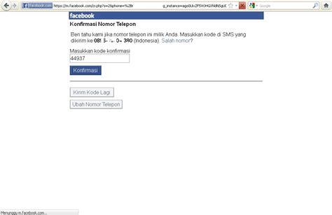 cara daftar facebook dengan nomor hp cara daftar facebook menggunakan nomor hp dari komputer